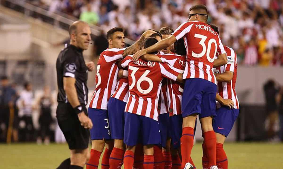 Atletico Madrid Real Madrid'i 7-3 Yendi